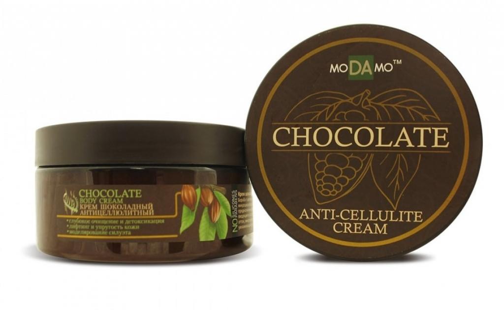 Купить Modamo Шоколадный антицеллюлитный крем, 200 мл (Modamo, Chocolate)