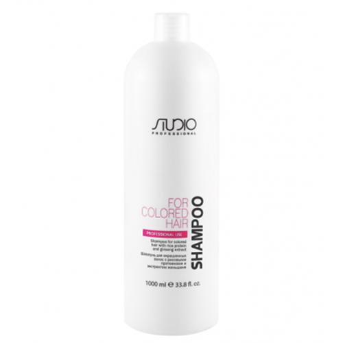 Купить Kapous Professional Шампунь для окрашенных волос с рисовыми протеинами и экстрактом женьшеня, 1000 мл (Kapous Professional, Kapous Studio)