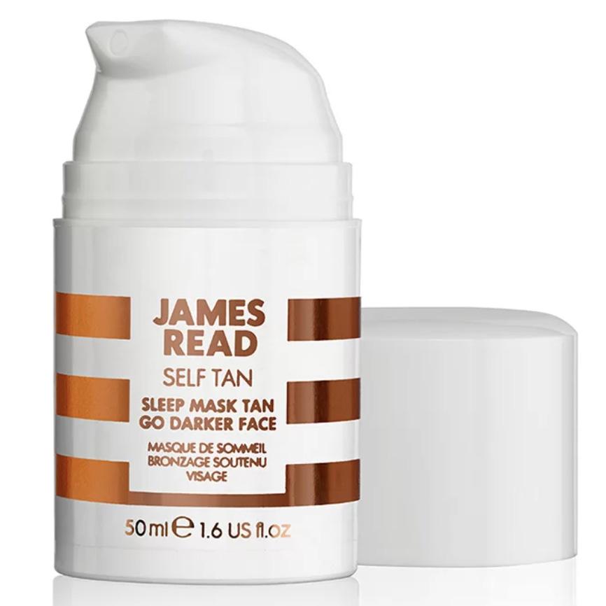 Купить JAMES READ Ночная маска для лица Уход и загар, темная, 50 мл (JAMES READ, Self Tan)