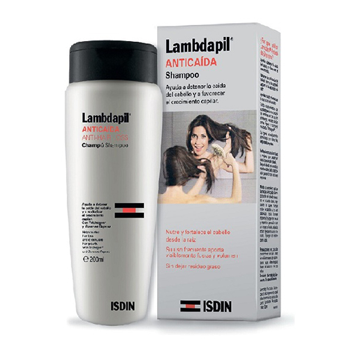 Купить Isdin Шампунь против выпадения волос Anti-Hair Loss Shampoo, 200 мл (Isdin, Lambdapil)