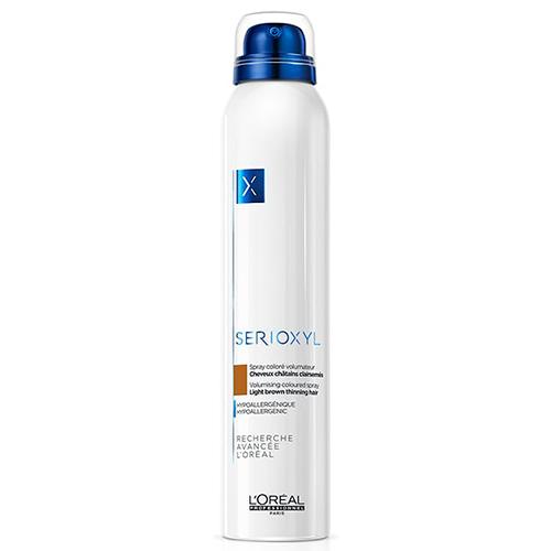 Купить L'Oreal Professionnel Сериоксил Цветной спрей-камуфляж для волос Шатен, 200 мл (L'Oreal Professionnel, Уход за волосами)