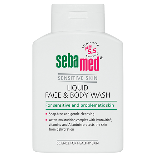 Гель для лица и тела очищающий Liquid face and body wash, 200 мл