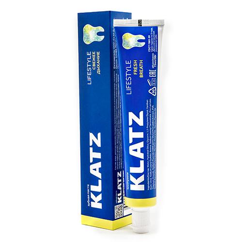 Klatz Зубная паста Свежее дыхание, 75 мл (Klatz, Lifestyle)  - Купить