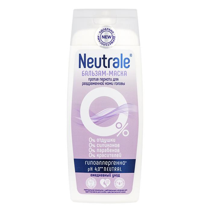 Купить Neutrale Бальзам-маска против перхоти для раздраженной кожи головы, 250 мл (Neutrale, Уход для кожи головы)