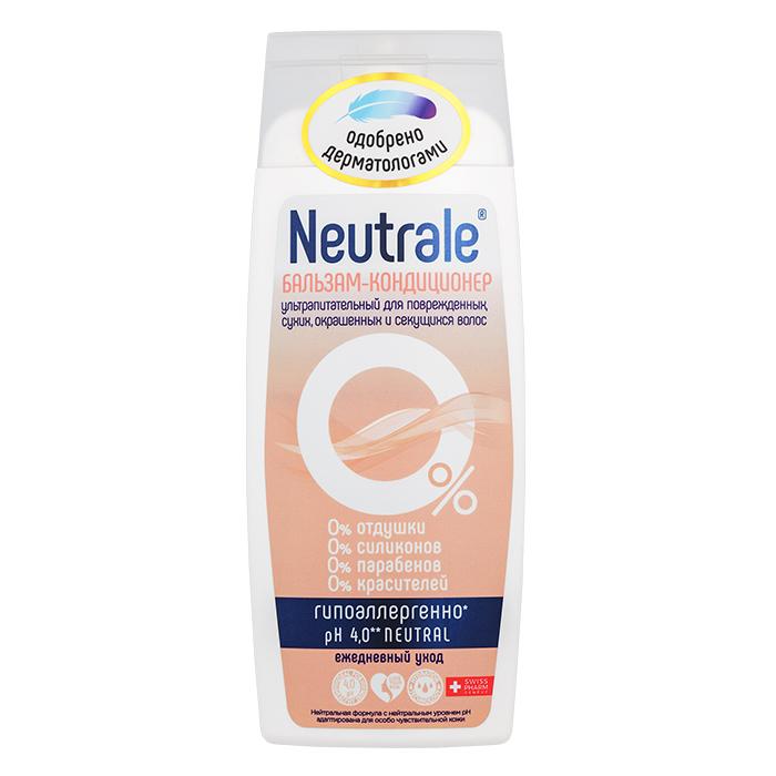 Купить Neutrale Бальзам-кондиционер ультрапитательный для поврежденных, сухих, окрашенных и секущихся волос, 250 мл (Neutrale, Уход для волос)