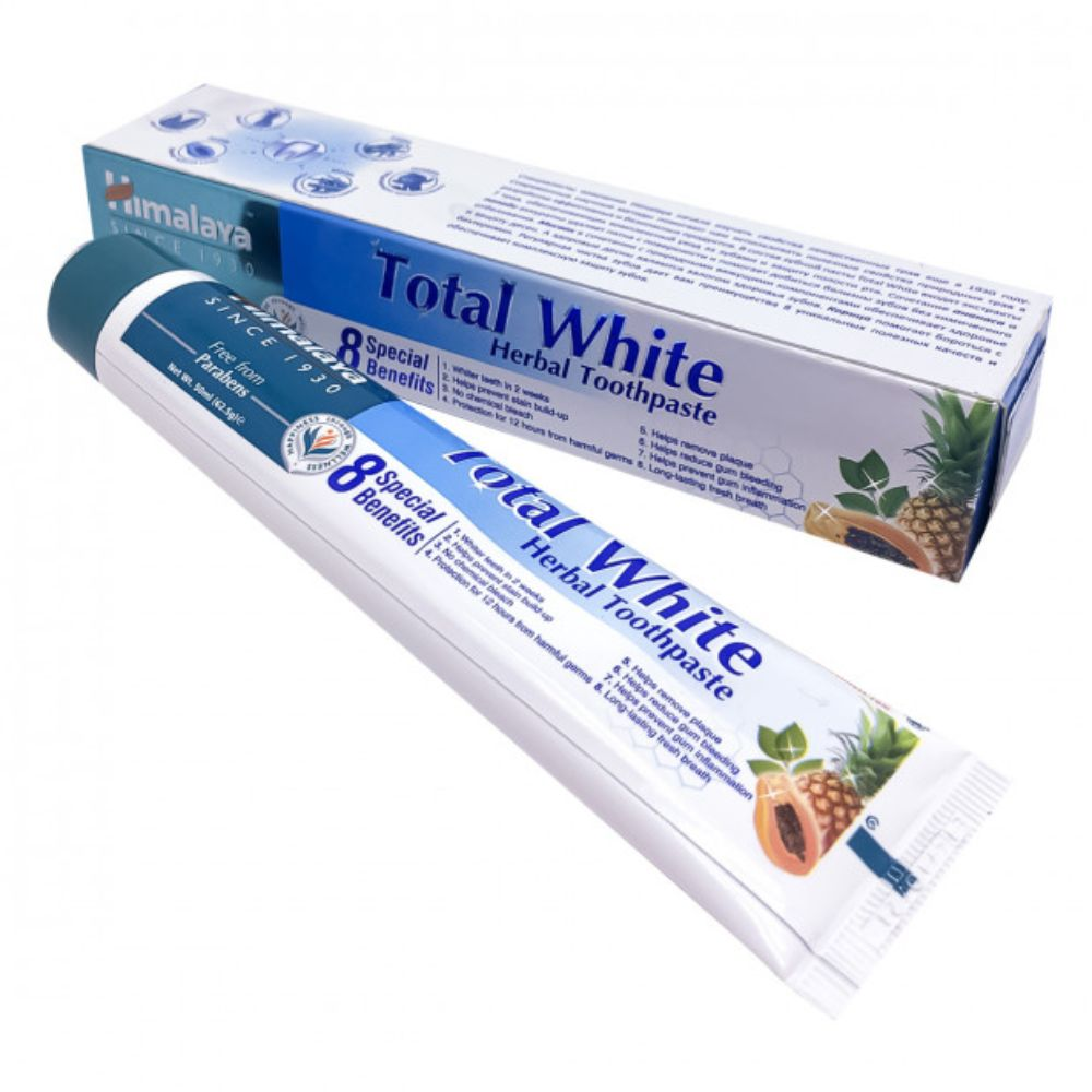 Купить HIMALAYA HERBALS Зубная паста Total White, 50 мл (HIMALAYA HERBALS, )