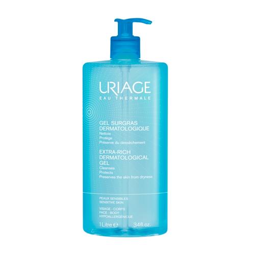 Uriage Обогащенный дерматологический гель для лица и тела, 1000 мл (Uriage, Гигиена Uriage) недорого