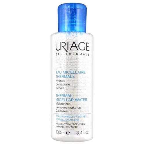 Uriage Очищающая мицеллярная вода для сухой и нормальной кожи 100 мл (Uriage, Гигиена Uriage) uriage набор roseliane крем 40 мл очищающая мицеллярная вода для чувствительной кожи 100 мл