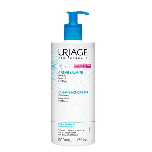 Uriage Очищающий пенящийся крем с помпой 500 мл (Uriage, Гигиена Uriage) uriage крем очищающий пенящийся 500 мл
