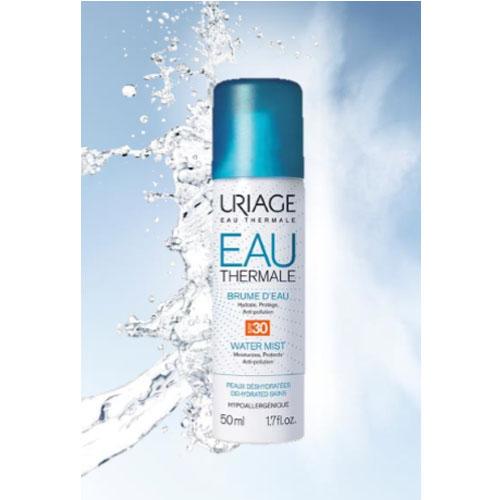 Купить Uriage Eau thermale Увлажняющая дымка-спрей SPF30, 50 мл (Uriage, Eau thermale)