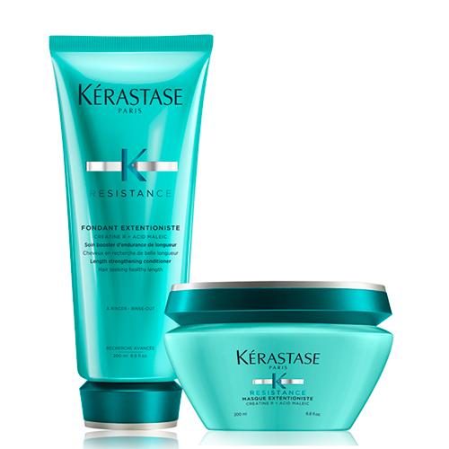 Kerastase Набор Усиление прочности волос (Молочко Extentioniste, 200 мл + Маска Extentioniste, 200 мл) (Kerastase, Resistance) недорого
