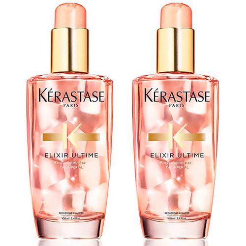 Купить Kerastase Набор Elixir Ultime Масло для окрашенных волос Radiance Beautifying Oil, 2*100 мл (Kerastase, Elixir Ultime)