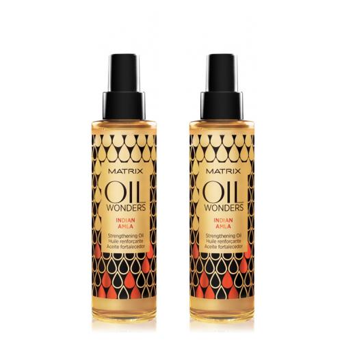 Купить Matrix Набор Оил Вандерс Укрепляющее масло Индийское Амла 2 шт х 150 мл (Matrix, Oil Wonders)