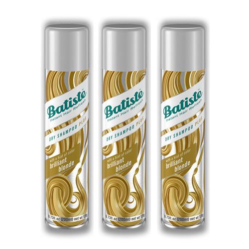 Купить Batiste Комплект Light Brilliant Blonde Сухой шампунь 3 шт х 200 мл (Batiste, Color)