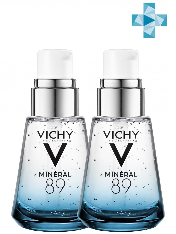 Купить Vichy Комплект Гель-сыворотка для всех типов кожи Минерал 89, 2х30 мл (Vichy, Mineral 89)