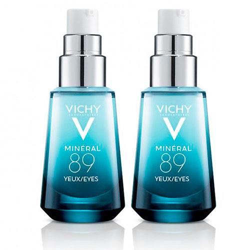Купить Vichy Комплект Восстанавливающий и укрепляющий уход для кожи вокруг глаз, 2*15 мл (Vichy, Mineral 89)