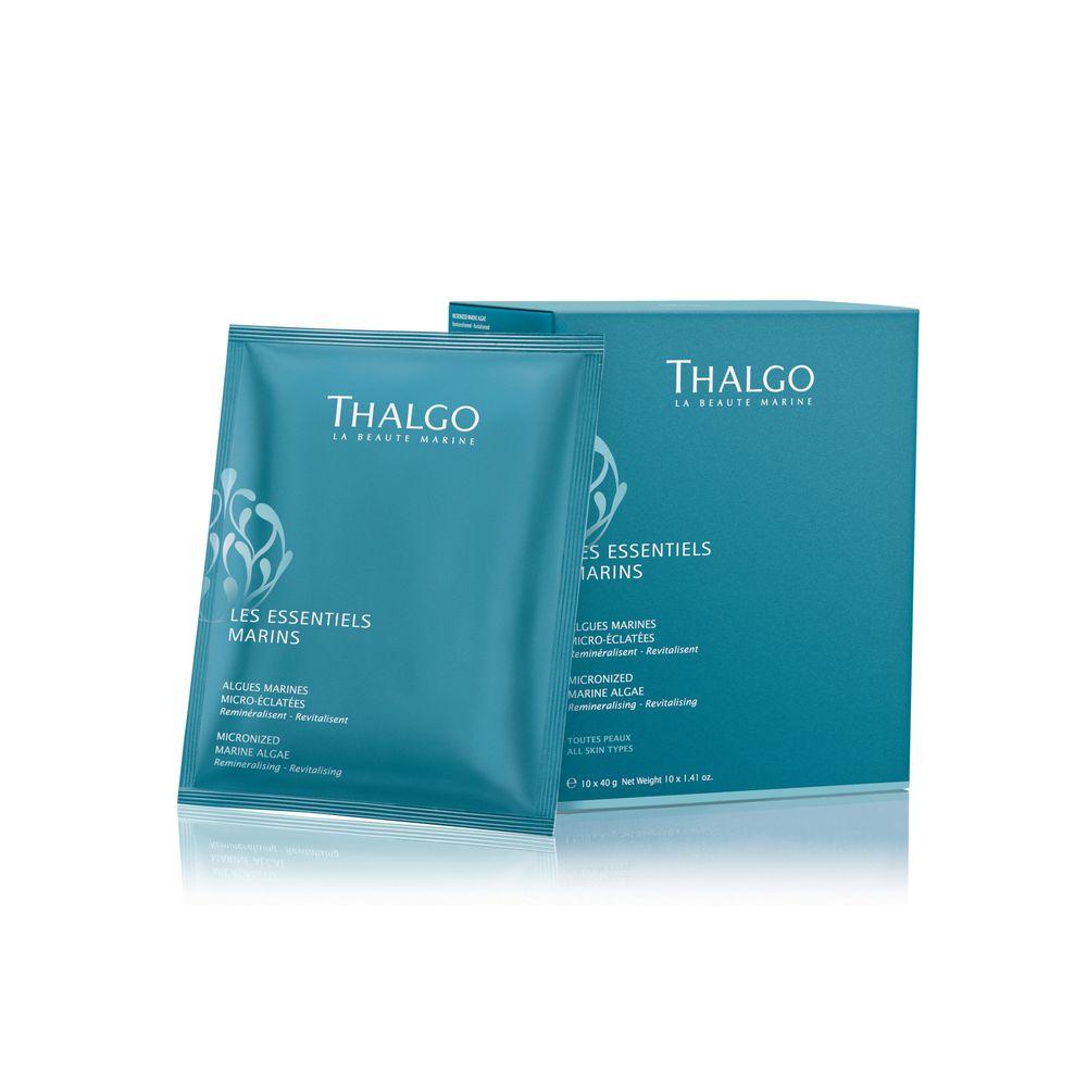 Thalgo Микронизированные морские водоросли для ванны, 40 г х 10 шт (Thalgo, Les Essentiels Marins)