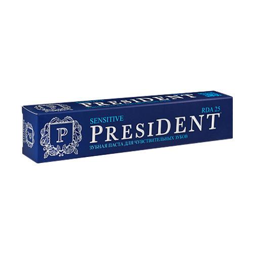 Купить President Зубная паста для чувствительных зубов, 50 мл (President, Sensitive)