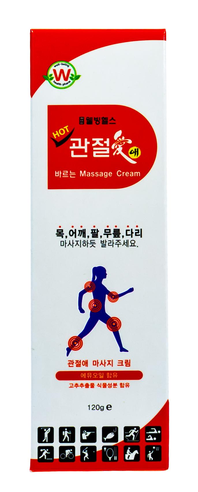 Купить Well-Being Крем массажный для тела разогревающий для мышц и суставов, 120 гр (Well-Being, Для тела)