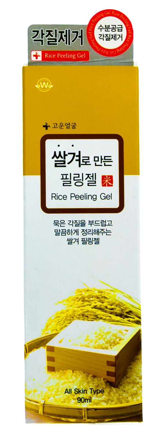 Купить Well-Being Пилинг-скатка для лица с рисовыми отрубями, 90 мл (Well-Being, Для лица)