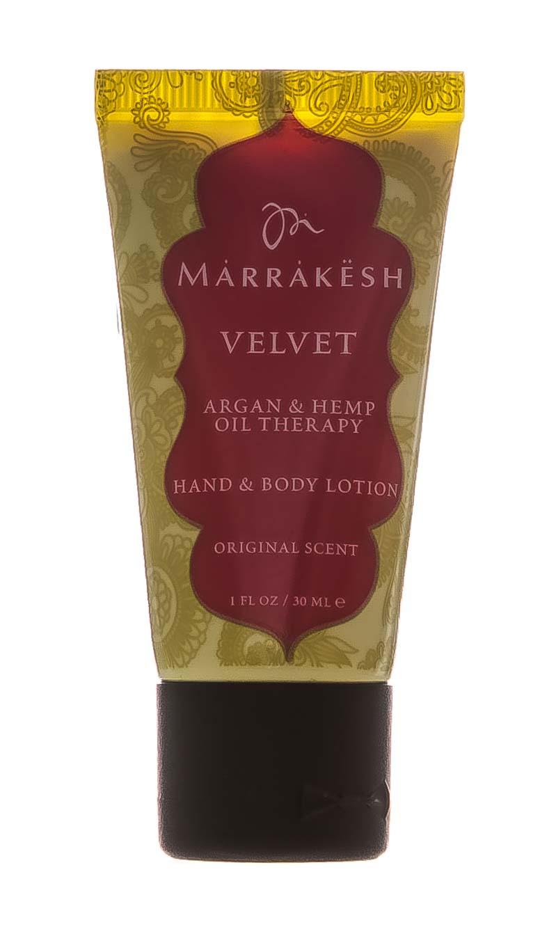 Купить Marrakesh Увлажняющий лосьон для рук и тела Hand & Body Lotion Velvet, 30 мл (Marrakesh, Body Care)