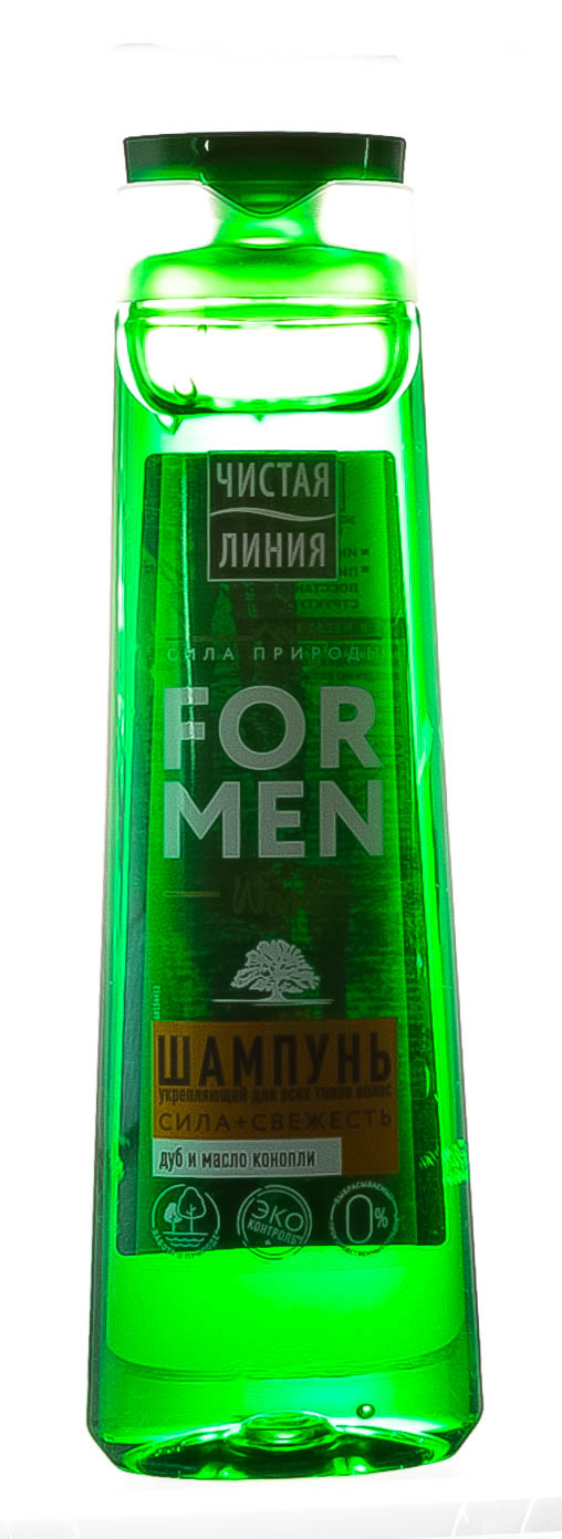 Купить Чистая Линия Шампунь Укрепляющий для мужчин, 400 мл (Чистая Линия, )