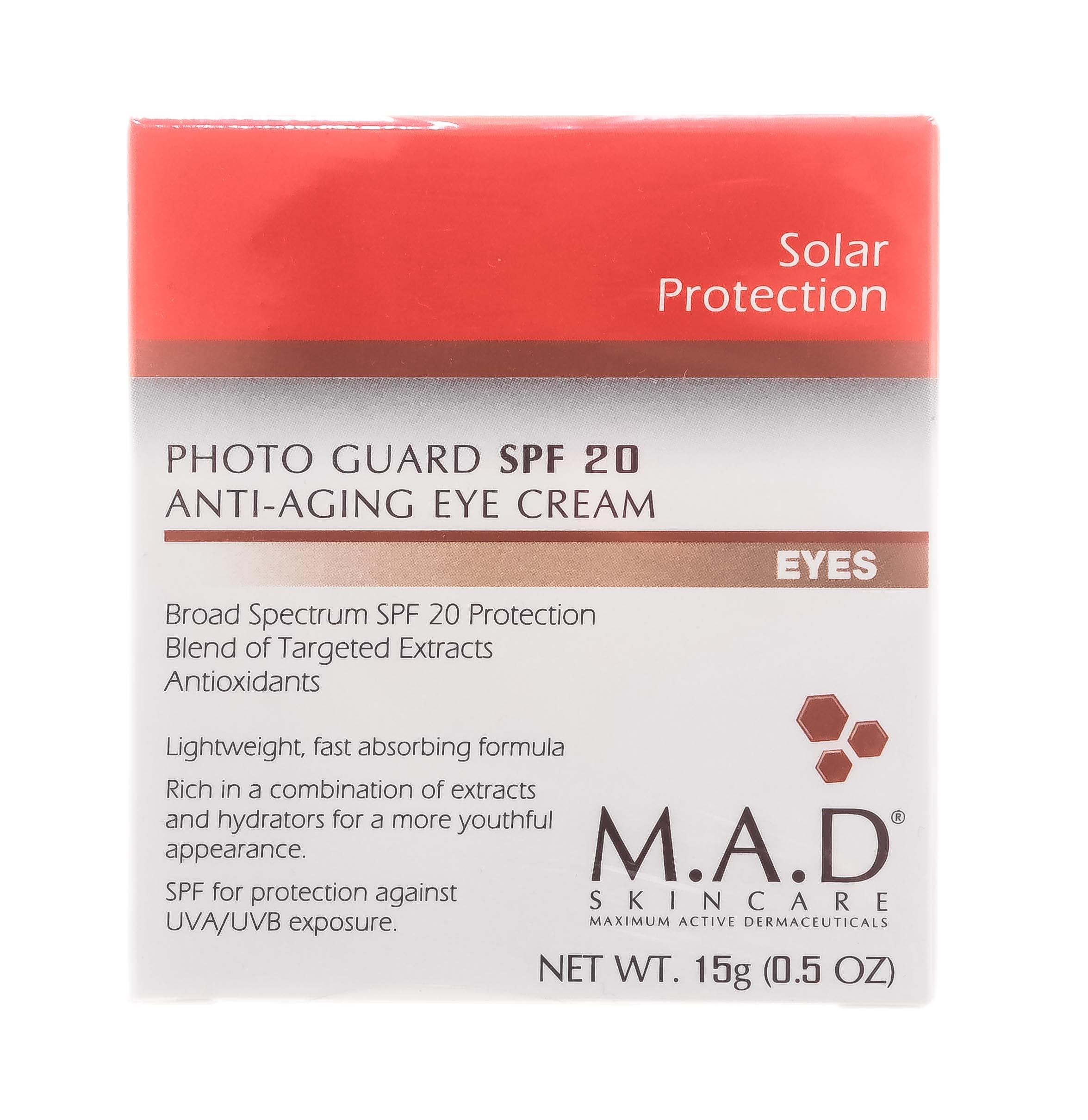 Купить M.A.D. Антивозрастной крем для глаз с защитой spf 20, 15 гр (M.A.D., )
