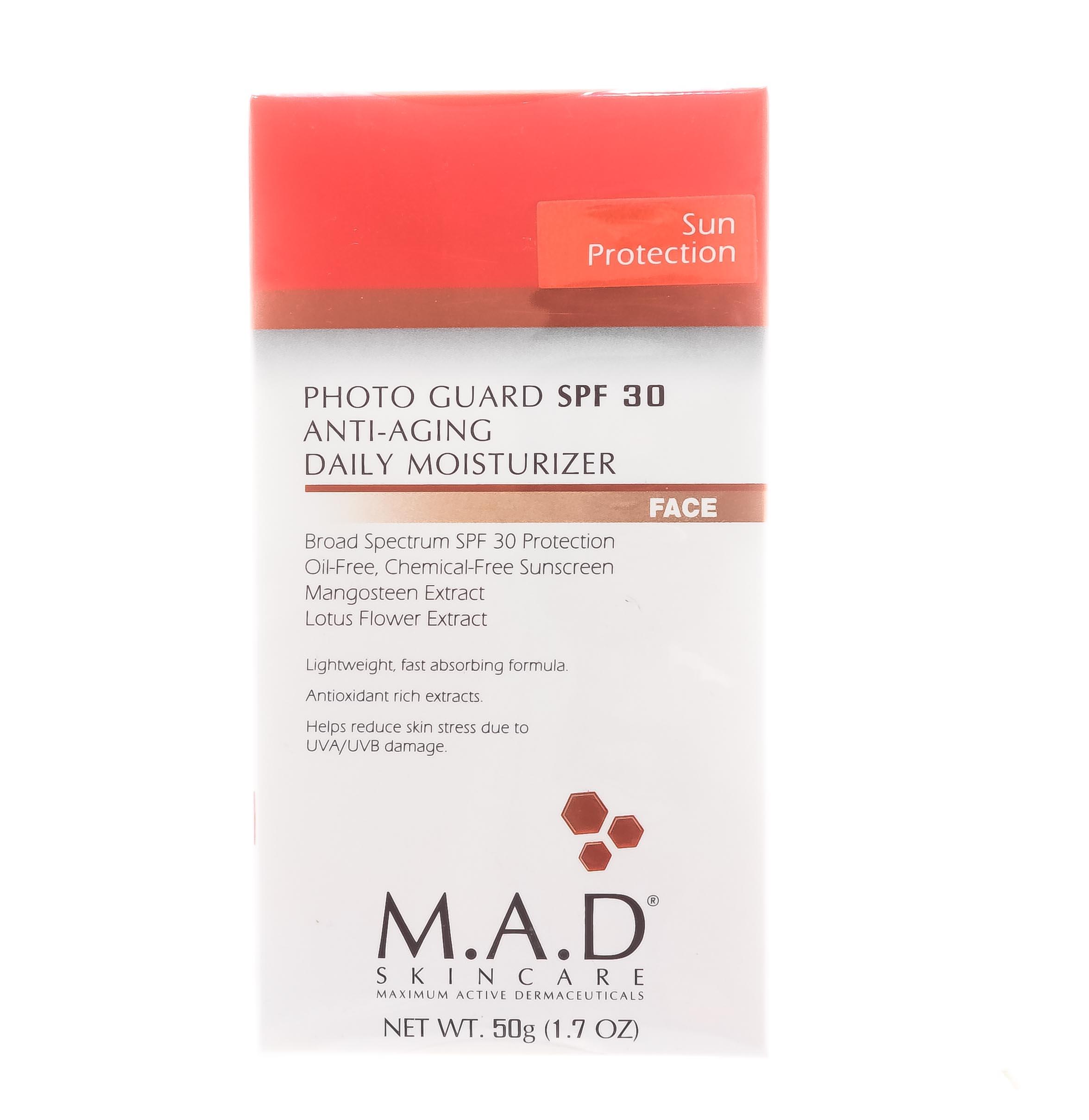 Купить M.A.D. Омолаживающий и увлажняющий крем-защита под макияж с защитой spf 30, 50 гр (M.A.D., )
