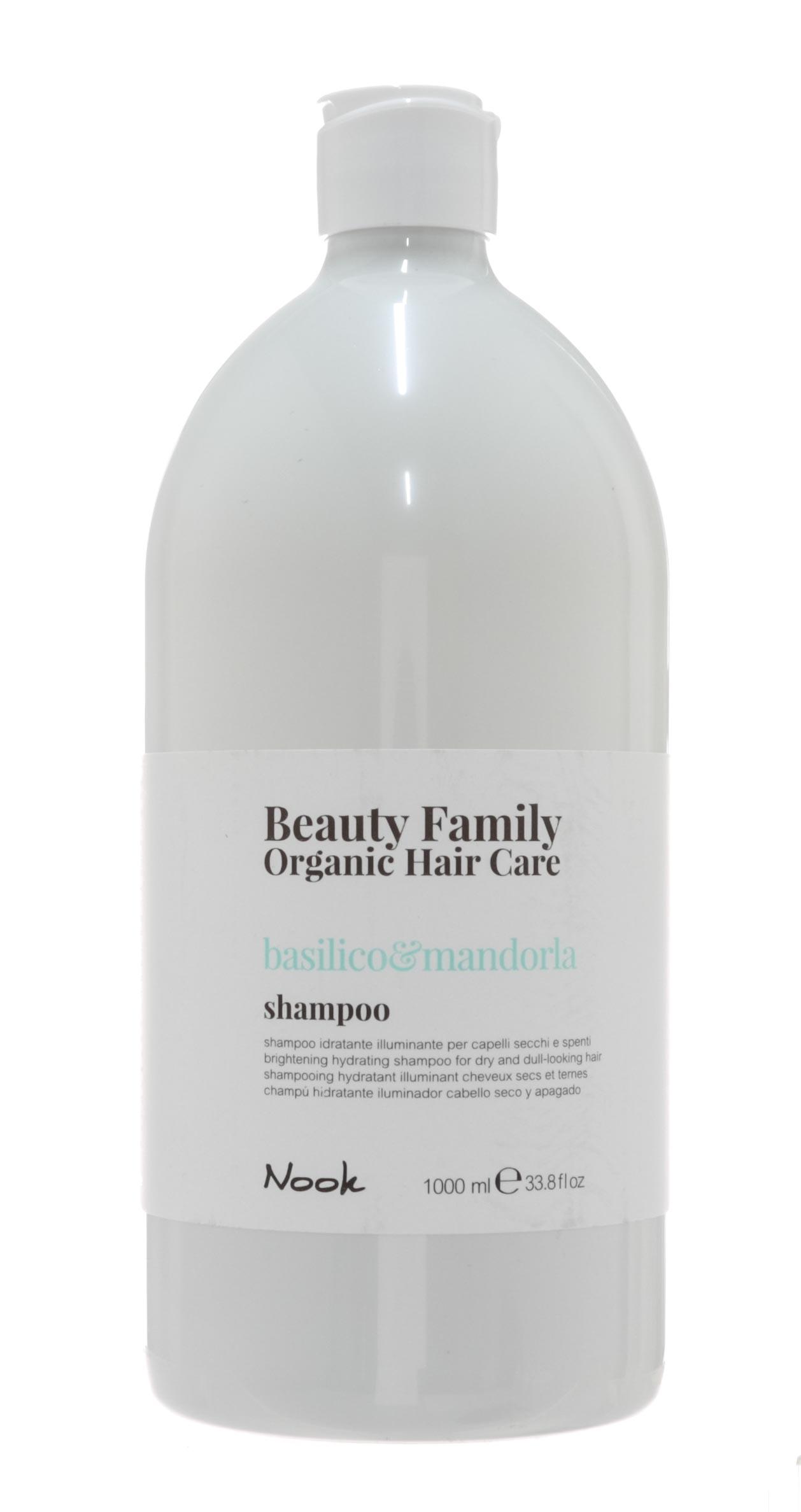 Купить Nook Шампунь для сухих и тусклых волос Basilico&Mandorla, 1000 мл (Nook, Beauty Family)