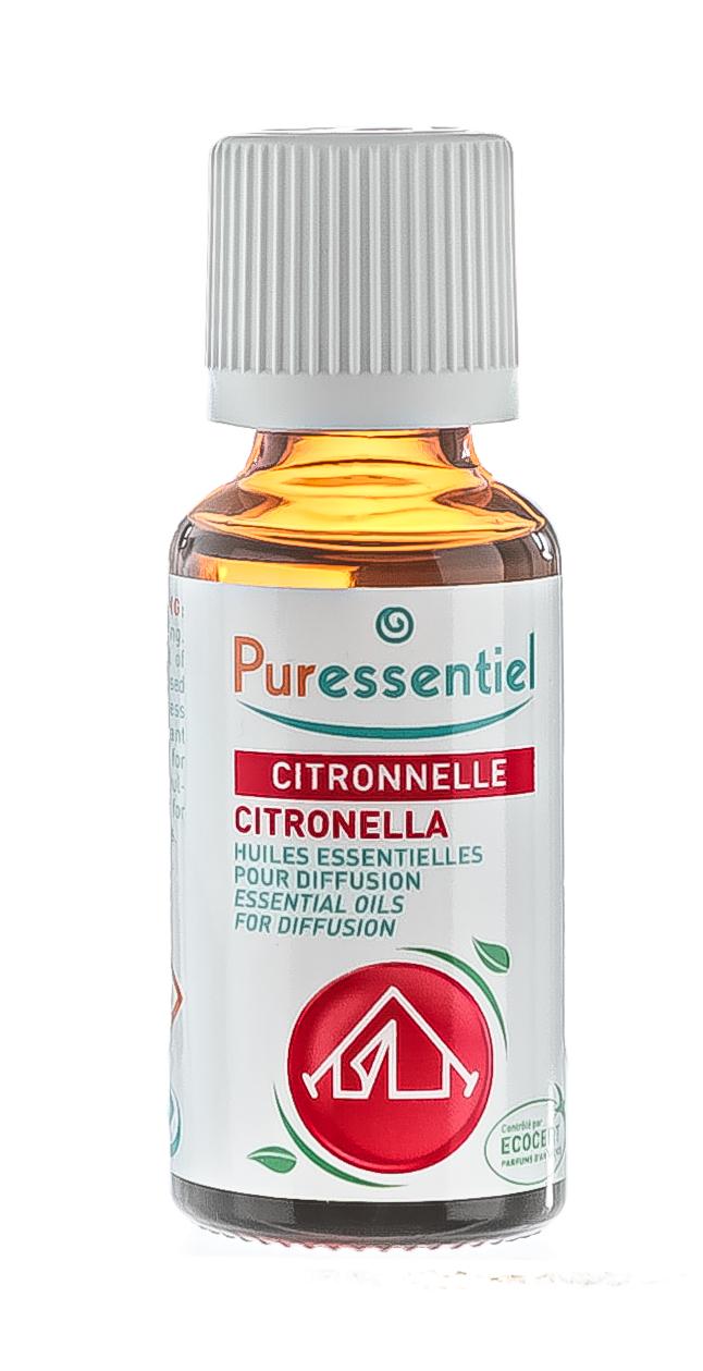 Купить Puressentiel Комплекс эфирных масел Цитронелла + 3 эфирных масла , 30 мл (Puressentiel, Отдых и Релакс)