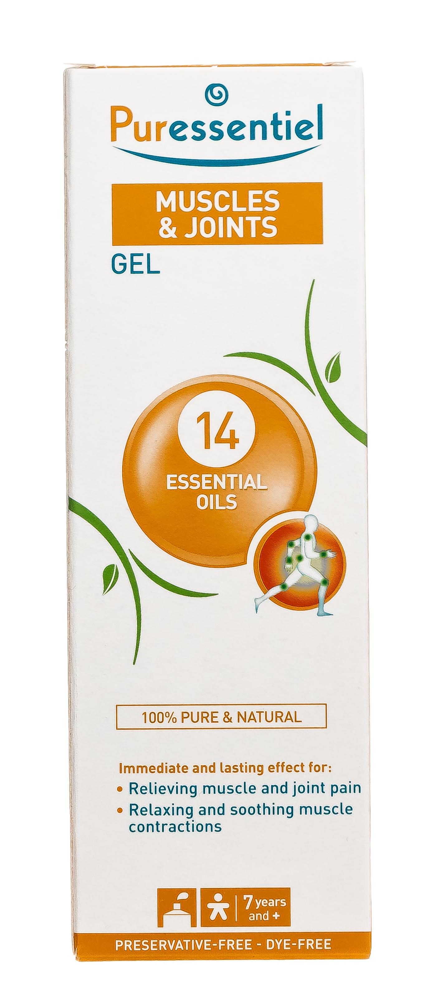 Купить Puressentiel Гель Расслабляющий и успокаивающий 14 эфирных масел , 60 мл (Puressentiel, Мышцы и суставы)
