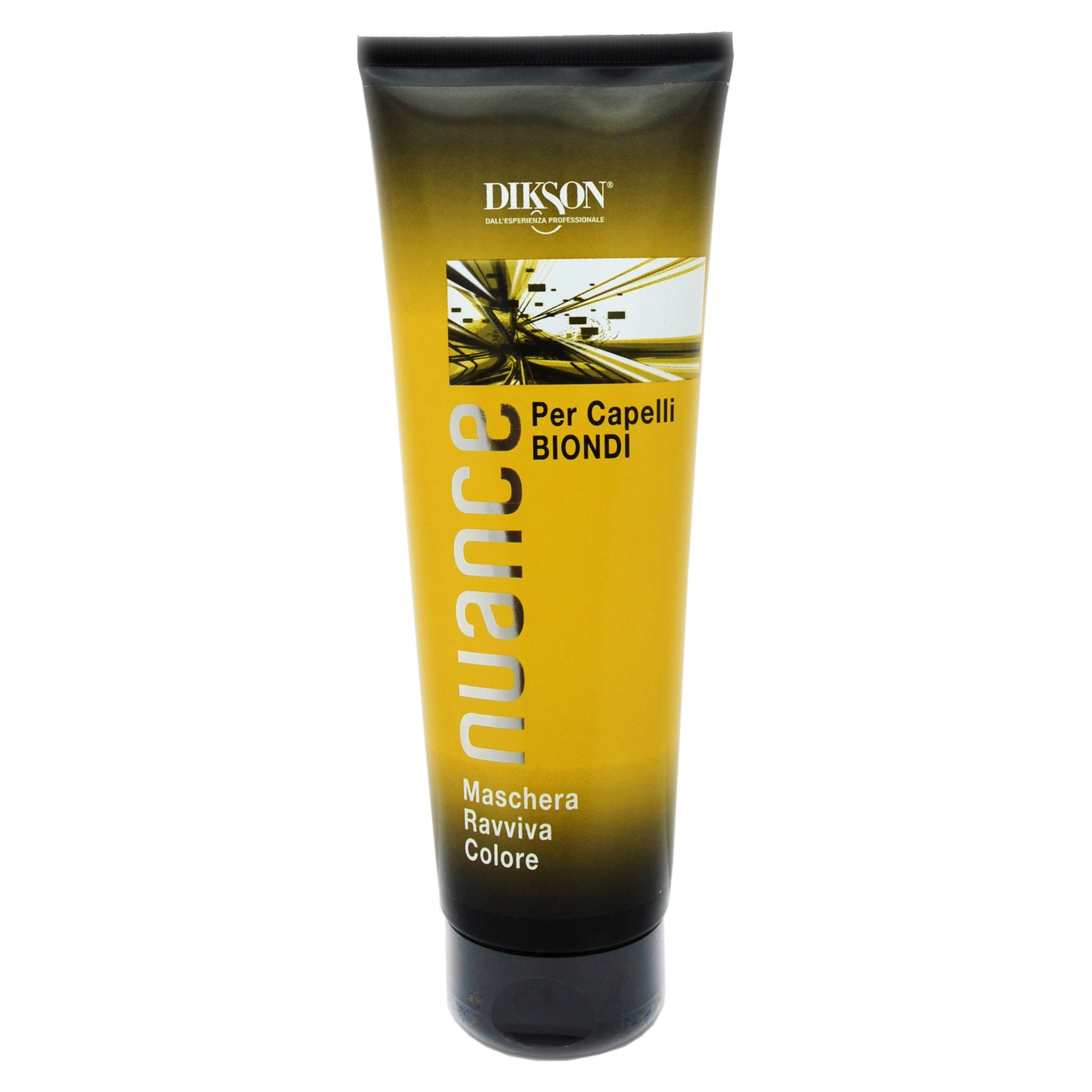 Купить Dikson Тонирующая маска для блондинок Maschera Raviva Color for Blond Hair, 250 мл (Dikson, Окрашивание)