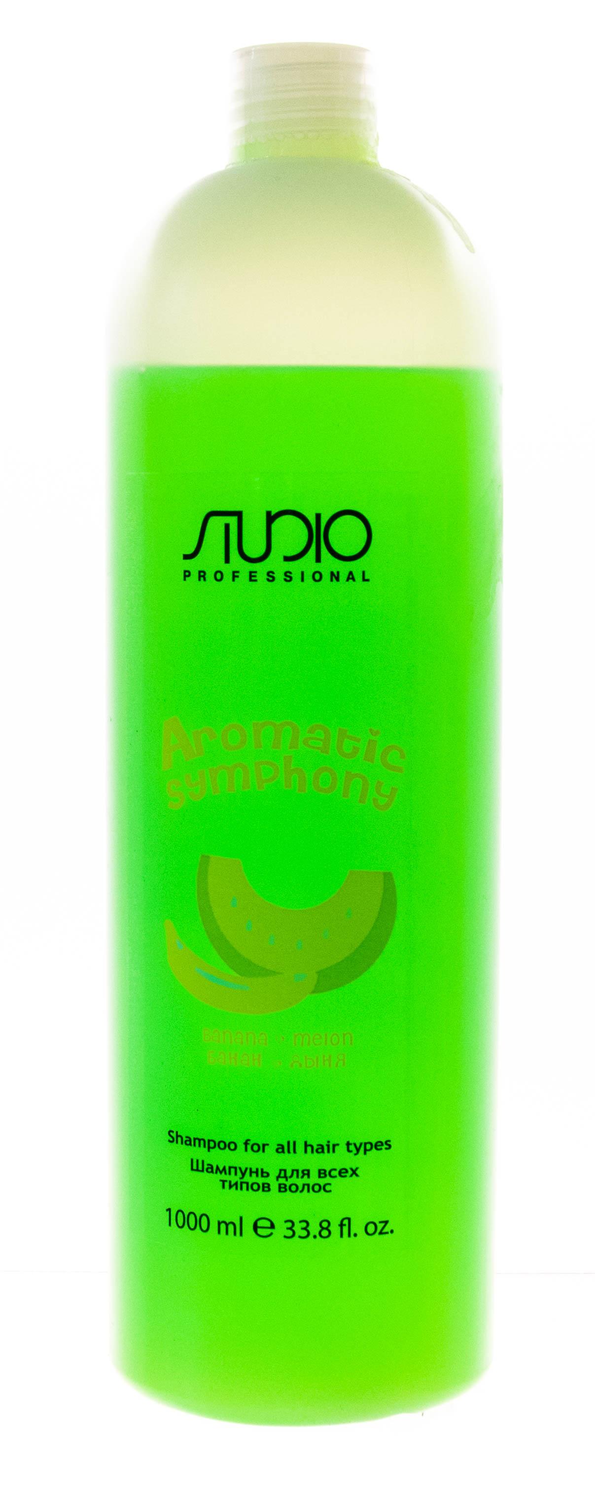 Купить Kapous Professional Шампунь для всех типов волос «Банан и дыня», 1000 мл (Kapous Professional, Kapous Studio)