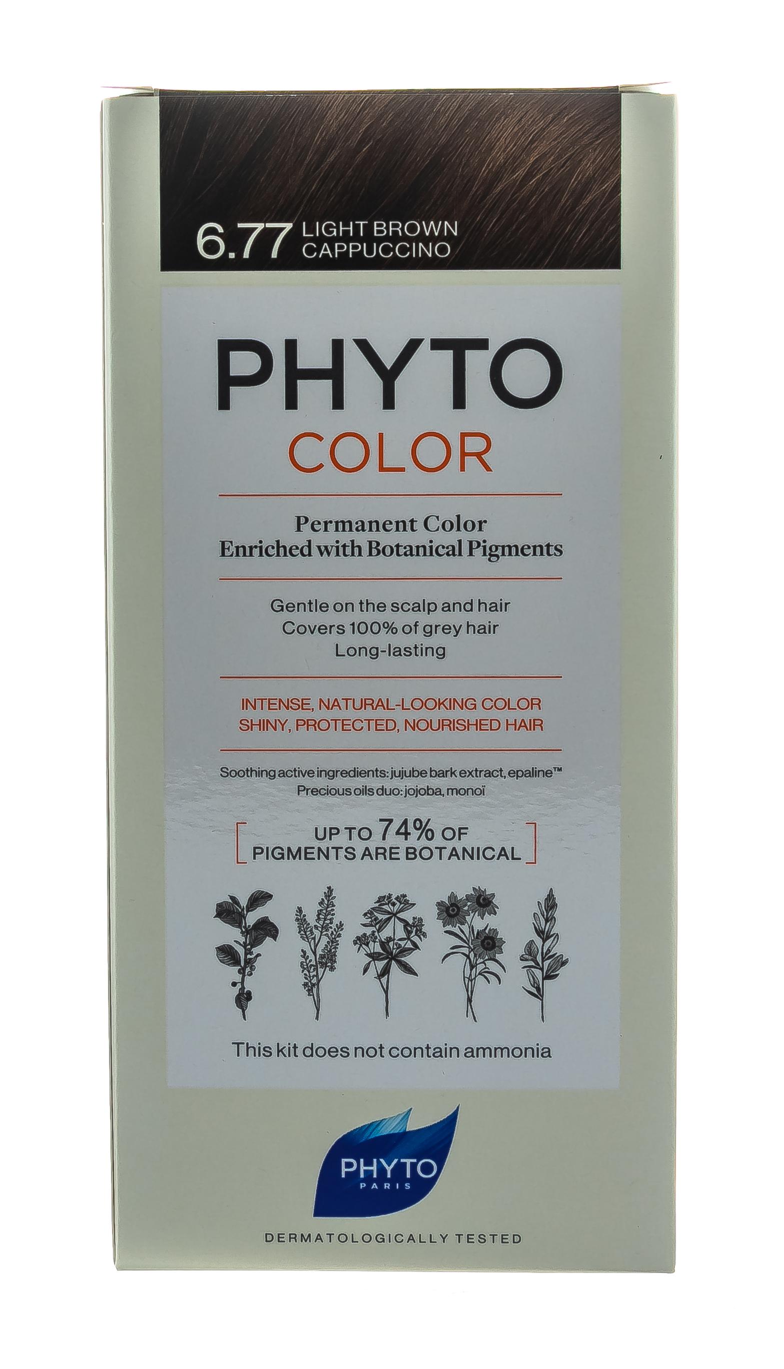 Купить Phytosolba Краска для волос светлый каштан - капучино, 1 шт (Phytosolba, PhytoCOLOR)